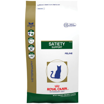Royal Canin Veterinary Diets Satiety Support Dry Cat Food (18.7 lb)