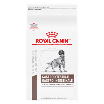 Royal Canin Veterinary Diet Gastrointestinal Low Fat Dry Dog Food (28.6 lb)