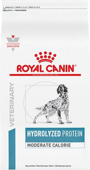 Royal Canin Veterinary Diets Canine Hydrolyzed Protein Moderate Calorie Dry (7.7 lb)