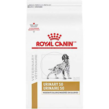 Royal Canin Veterinary Diet Urinary SO Moderate Calorie Dry Dog Food (17.6 lb)