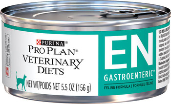 Purina Pro Plan Veterinary Diets EN Gastroenteric Canned Cat Food (24/5.5 oz Cans)