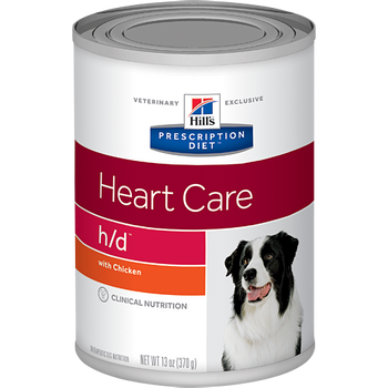 Heart Care h/d Wet Dog Food (12/13 oz Cans)