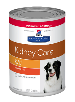 Kidney Care k/d  with Chicken Wet Dog Food (12/13 oz Cans)