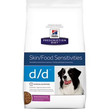 Skin/Food Sensitivity d/d Potato & Duck Formula Dry Dog Food (8 lb)