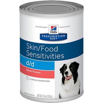 Skin/Food Sensitivity d/d Salmon Formula Wet Dog Food (12/13 oz Cans)