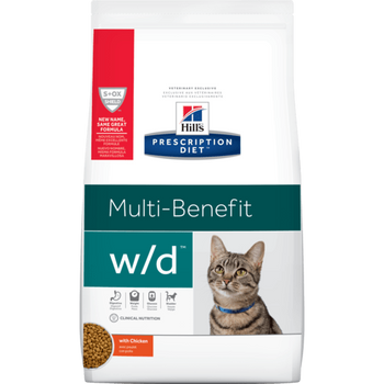 Hill's Prescription Diet Digestive/Weight Management w/d Dry Cat Food (8.5 lb)