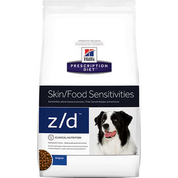 Skin/Food Sensitivity z/d Dry Dog Food (25 lb)