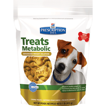 Hill's Prescription Diets Metabolic Dog Treats (6/12 oz Bags)