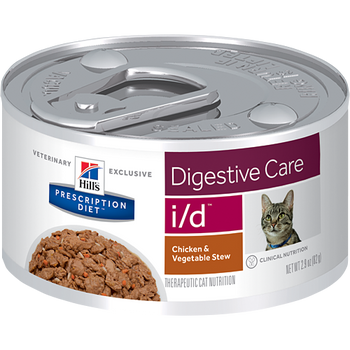 Digestive Care i/d Chicken & Vegetable Stew Wet Cat Food (24/2.9 oz Cans)
