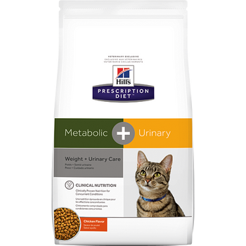 Metabolic + Urinary Care Chicken Flavor Dry Cat Food (12 lb)