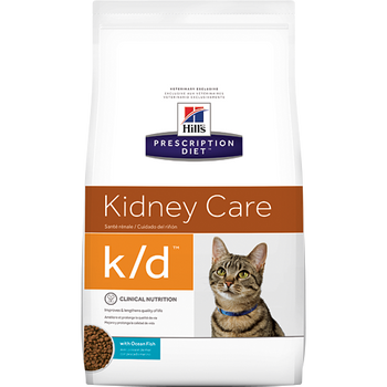 Kidney Care k/d with Ocean Fish Dry Cat Food (8.5 lb)