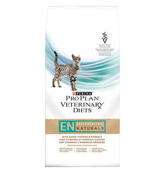 Purina Pro Plan Veterinary Diets EN Gastroenteric Naturals Dry Cat Food (10 lb)