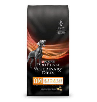 Purina Pro Plan Veterinary Diets OM Overweight Management Select Blend Dry Dog Food (6 lb)