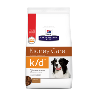 Hills Kidney Care k/d with Lamb Dry Dog Food (17.6 lb)