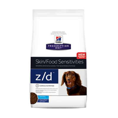 Hills Skin/Food Sensitivity z/d Small Bites Dry Dog Food (7 lb)