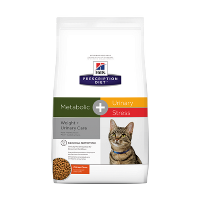 Hills Metabolic + Urinary Care + Stress Chicken Cat Food (6.35 lb)