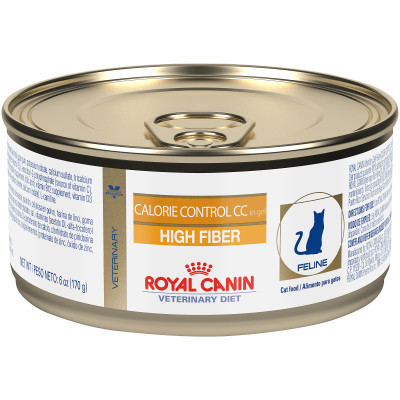 Royal Canin Calorie Control CC High Fiber Canned Cat Food (24/6 oz Cans)