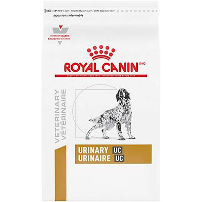 Royal Canin Veterinary Diet Urinary UC Low Purine Dry Dog Food (18 lb)