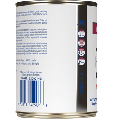 Royal Canin Veterinary Diet Hepatic Canned Dog Food (24/14.4 oz Cans)
