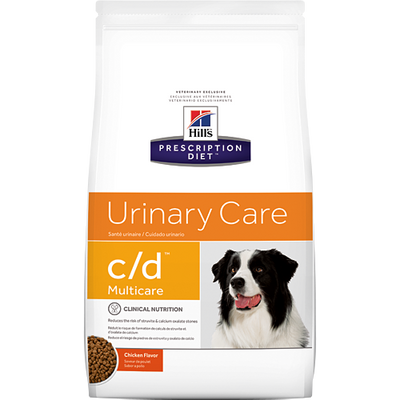 Urinary Care c/d with Chicken Dry Dog Food (27.5 lb)
