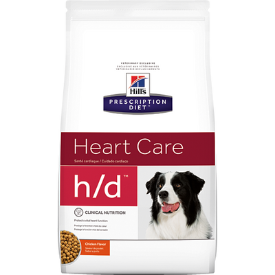 Heart Care h/d Dry Dog Food (17.6 lb)
