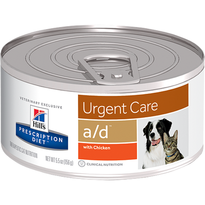Hill's Prescription Diet a/d Urgent Care Dogs and Cats (24/5.5 oz Cans)