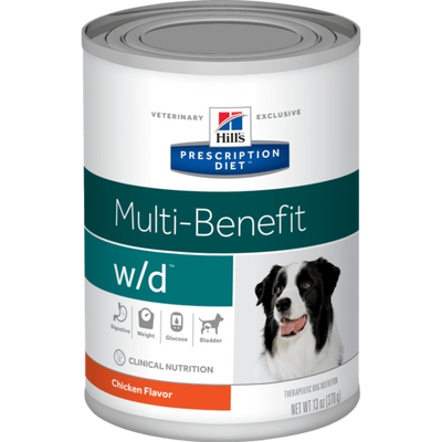Digestive/Weight/Glucose w/d Wet Dog Food (12/13 oz Cans)