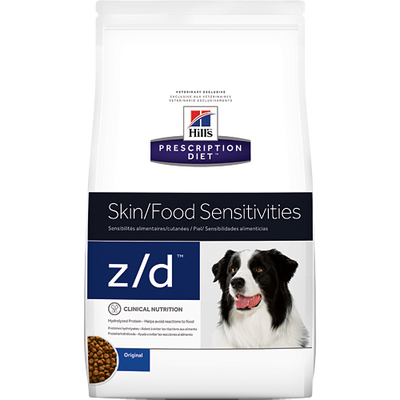 Skin/Food Sensitivity z/d Dry Dog Food (8 lb)