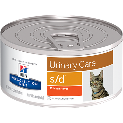 Urinary Care s/d Wet Cat Food (24/5.5 oz Cans)