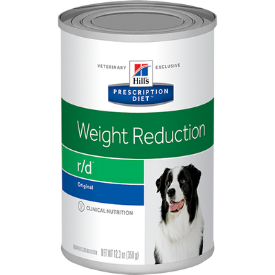 Weight Reduction r/d Wet Dog Food (12/12.3 oz Cans)