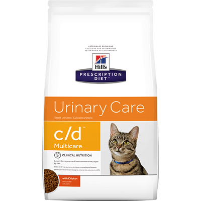 Hill's Prescription Diet Urinary Care c/d with Chicken Dry Cat Food (8.5 lb)