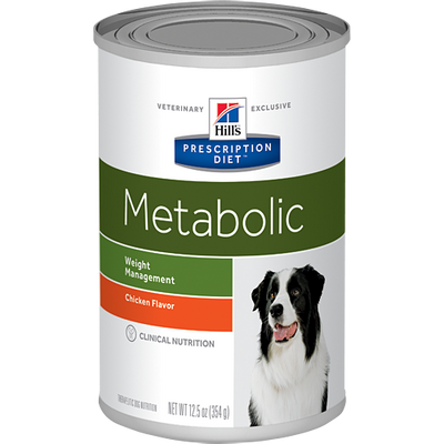 Metabolic Chicken Flavor Wet Dog Food (12/13 oz Cans)