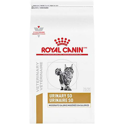 Royal Canin Veterinary Diet Urinary SO Moderate Calorie Feline Dry (17.6 lb)