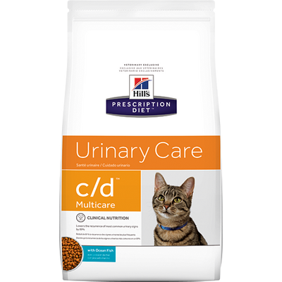 Hill's Prescription Diet Urinary Care c/d Ocean Fish Dry Cat Food (8.5 lb)