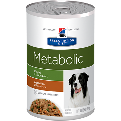 Metabolic Vegetable & Chicken Stew Wet Dog Food (12/12.5 oz Cans)