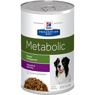 Metabolic Vegetable & Beef Stew Wet Dog Food (12 /12.5 oz Cans)