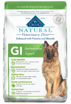 Blue Natural Veterinary Diets GI Gastrointestinal Support Dry Dog Food (22 lb) (by BLUE Buffalo)