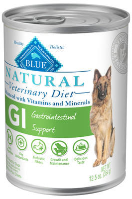 Blue Natural Veterinary Diets GI Gastrointestinal Support Canned Dog Food (12/12.5oz Cans) (by BLUE Buffalo)