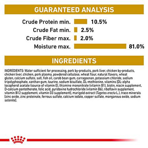 Royal Canin Veterinary Diets Urinary SO Canned Cat Food (24/5.8 oz Cans)