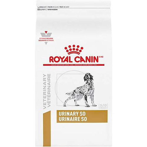 Royal Canin Veterinary Diets Urinary SO Dry Dog Food (25.3 lb)