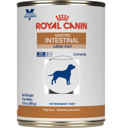 Royal Canin Veterinary Diets Gastrointestinal Low Fat LF Canned Dog Food (24/13.5 oz Cans)