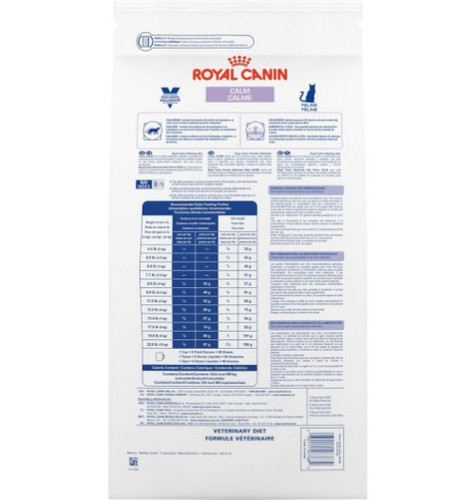 Royal Canin Veterinary Diet Calm Dry Cat Food (8.8 lb)