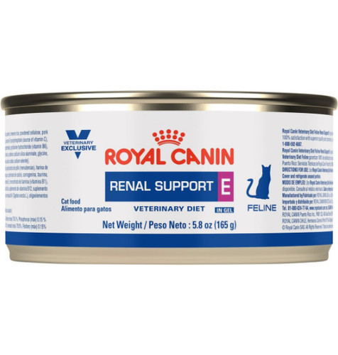 Royal Canin Veterinary Diets Renal Support E Canned Cat Food (24/5.8 oz Cans)