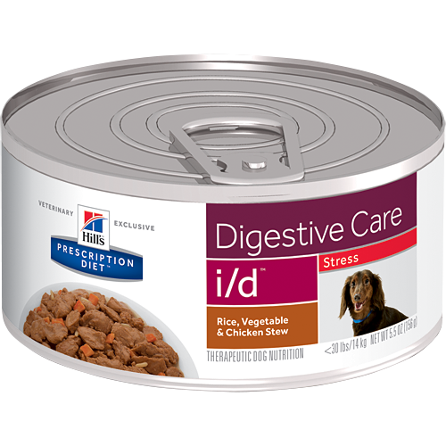 Hill's Prescription Diet Digestive Care i/d Stress Canned Dog Food (24/5.5 oz Cans)