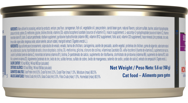 Royal Canin Veterinary Diet Selected Protein Adult PV Canned Cat Food (24/5.6 oz Cans)