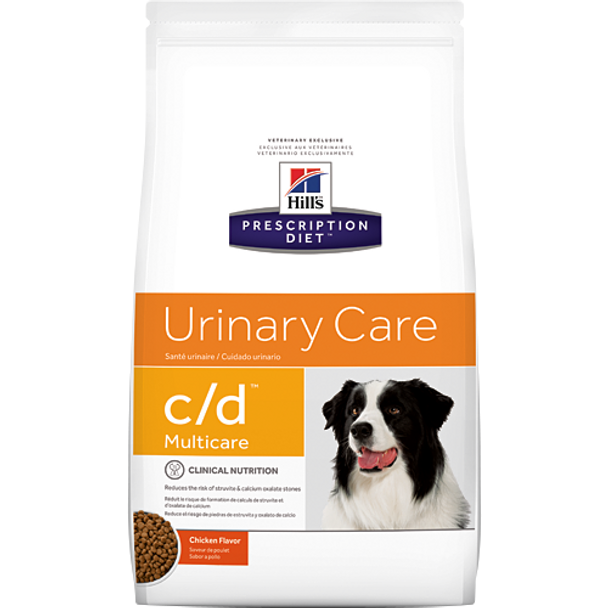 Hill's Canine Urinary Care c/d Multicare Chicken Flavor (17.6 lb)