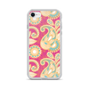 Pink Paisley iPhone Case