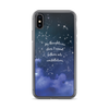 My Thoughts are Stars iPhone Case