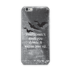 Fear Doesn't Shut You Down iPhone Case