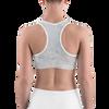 Tan Marble Sports bra